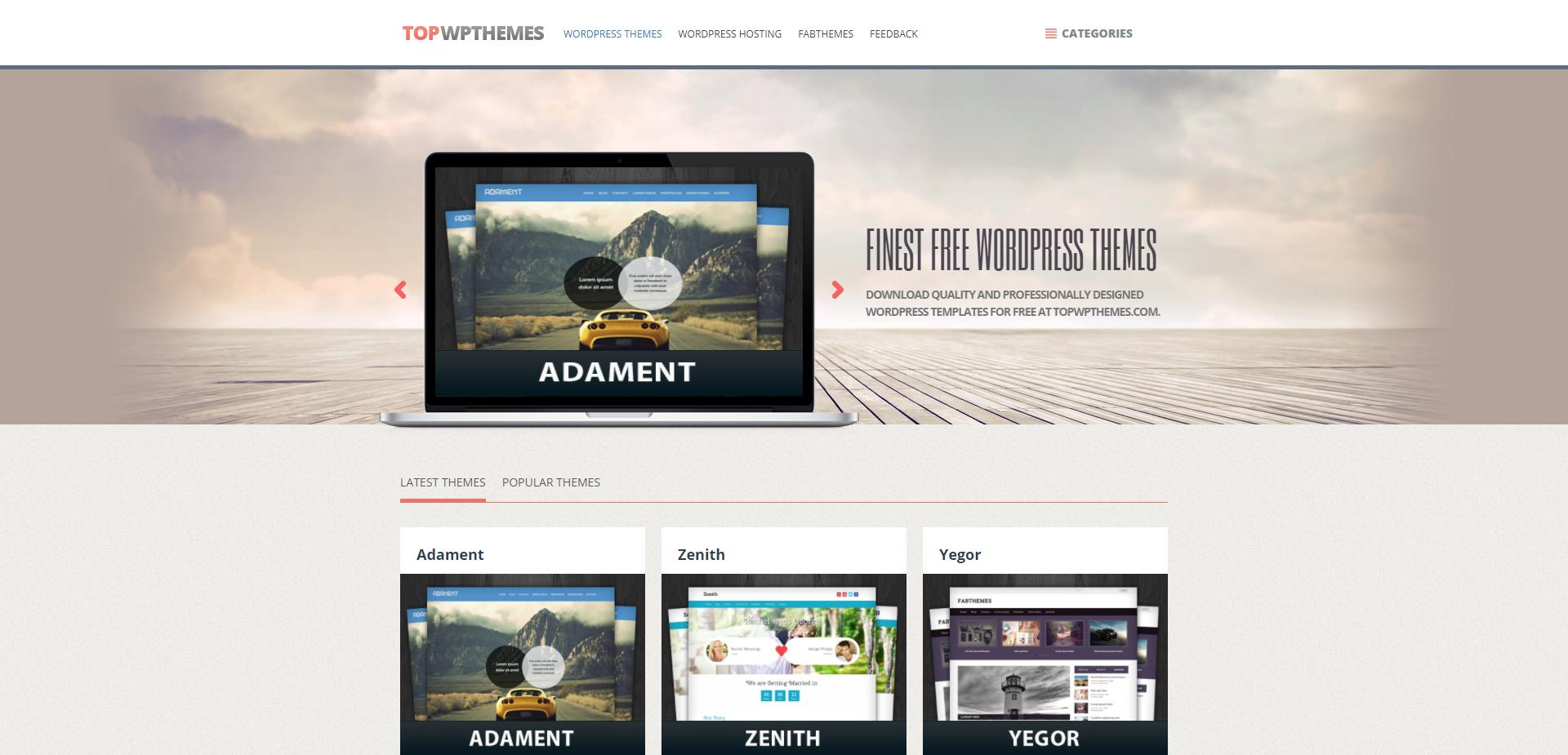 Plantillas Wordpress Gratis y responsive | Plantillas web gratis ...