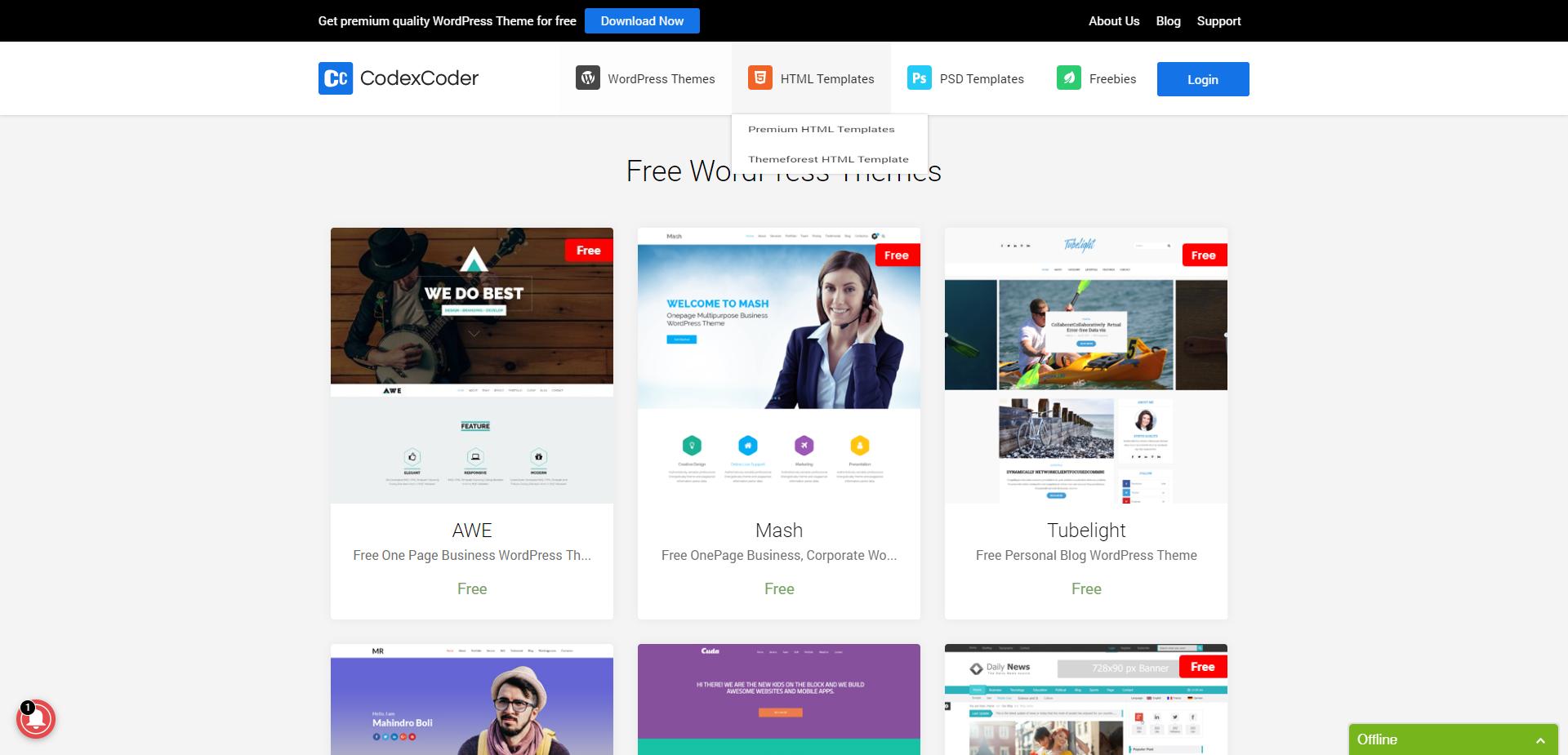Plantillas Wordpress Gratis y responsive | Plantillas web gratuitas