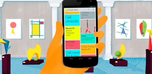 Esta es la nueva funcionalidad que ha incorporado Google Keep, ¿qué más le pedimos?